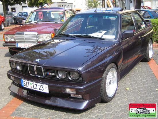 BMW M3 auf dem Youngtimertreffen in Bitburg 2006