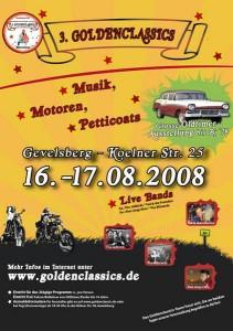Goldenclassics Gevelsberg 2008 Plakat