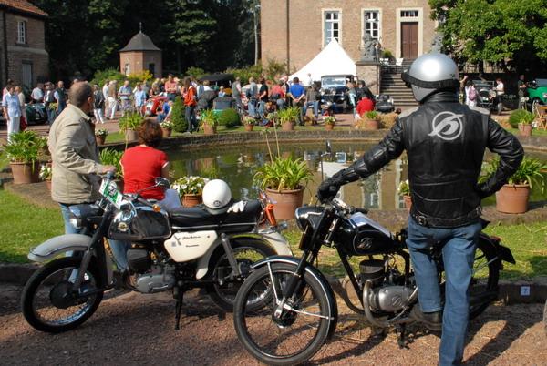 Foto Schloss Loersfeld Innenhof bei der Fahrerbesprechung 2008