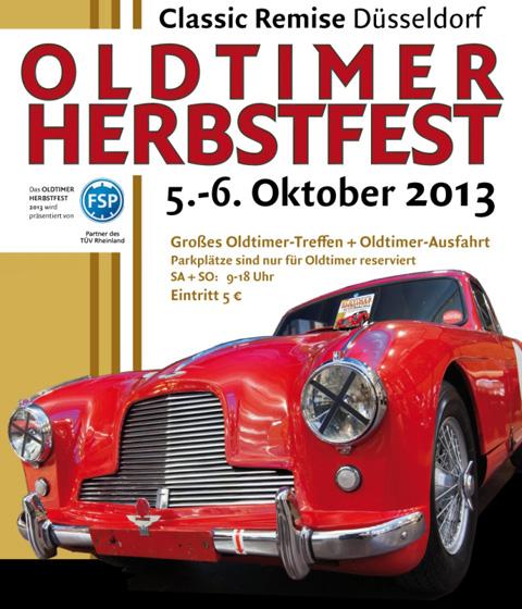 Einladung zum Herbstfest in der Classic Remise Düsseldorf