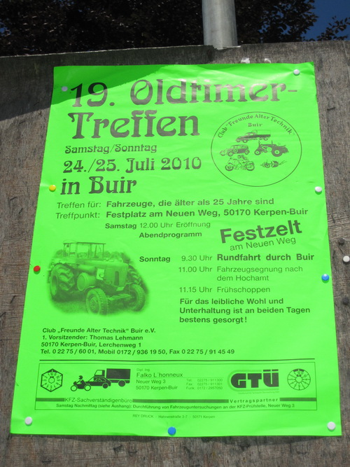 19. Oldtimer Treffen in Buir Kerpen Rheinland